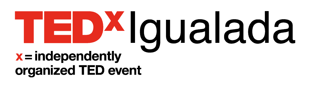 TEDxIgualada - PNG negre transparent